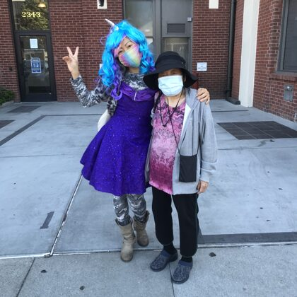 Mom and me - 2020 Halloween - Somatic Nature Physical Therapy and Wellness - Mission Distr